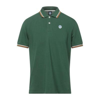 ノースセール NORTH SAILS ポロシャツ グリーン S コットン 100% ポロシャツ