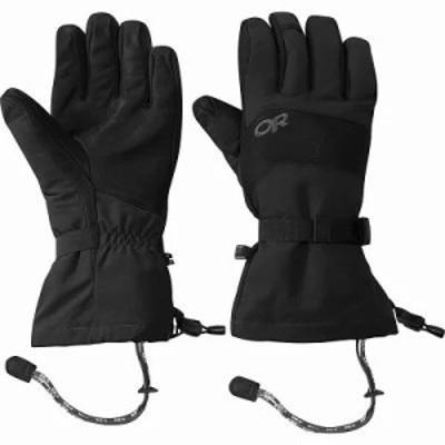 アウトドアリサーチ 手袋・グローブ Highcamp Gloves Black