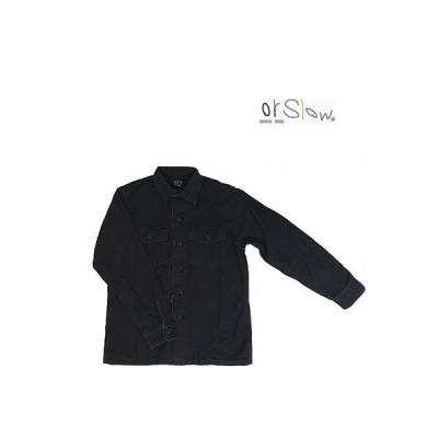 orslow  オアスロウ orslow  03-8045 US ARMY SHIRTS アーミーシャツ シャツジャケット BlackStone ブラックストーン
