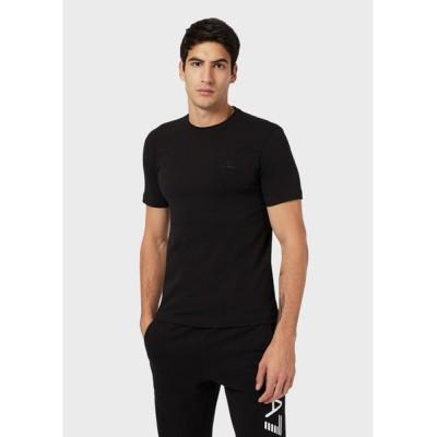 EMPORIO ARMANI / 【エンポリオ アルマーニ EA7】バックテープロゴ 半袖Tシャツ MEN トップス > Tシャツ/カットソー