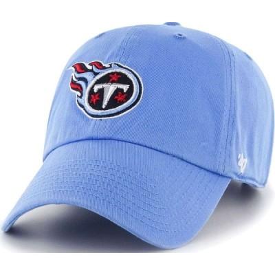 フォーティセブン 47 メンズ キャップ 帽子 ' Tennessee Titans Clean Up Blue Adjustable Hat