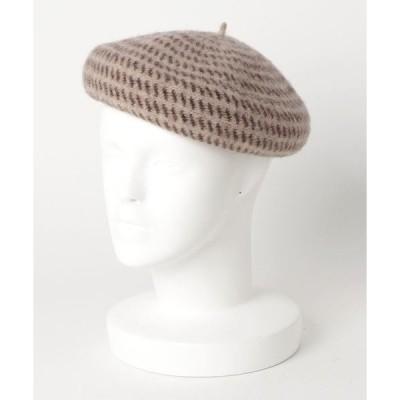 帽子 cableami × fennica / トビカンナ ポタリー ベレー帽子 <WOMEN>