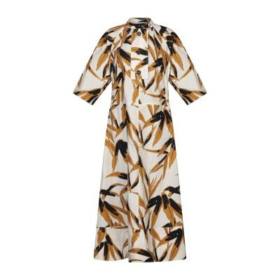 マルニ MARNI ロングワンピース&ドレス ホワイト 44 コットン 100% ロングワンピース&ドレス