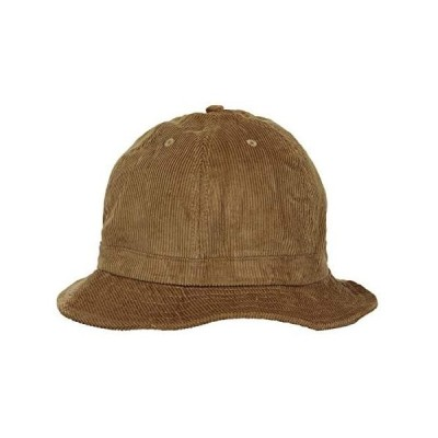 ニューハッタン テニスハット メトロハット バケットハット コーデュロイ メンズ レディース 帽子 Newhattan (タン S-M)