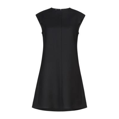 セリーヌ CELINE ミニワンピース&ドレス ブラック 38 ウール 73% / シルク 27% ミニワンピース&ドレス
