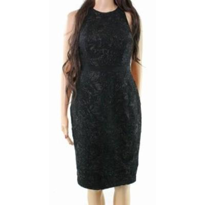 Laundry by Shelli Segal ランドリーバイシェルシーガル ファッション ドレス Laundry by Shelli Segal NEW Black Womens Size 4 Metalli