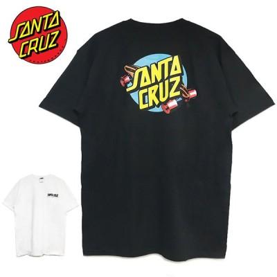 ゆうパケット送料無料 サンタクルーズ Tシャツ SANTA CRUZ メンズ レディース 半袖 ブラック ホワイト SUMMER 76 TEE サマー スケートボード 20SS