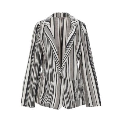 DIXIE テーラードジャケット ダークブルー S コットン 47% / 麻 42% / ポリエステル 11% テーラードジャケット