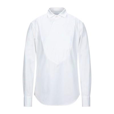 トムレベル TOM REBL シャツ ホワイト 48 コットン 96% / ポリウレタン 4% シャツ