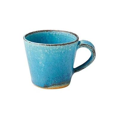 信楽焼 へちもん エスプレッソ カップ 青彩釉