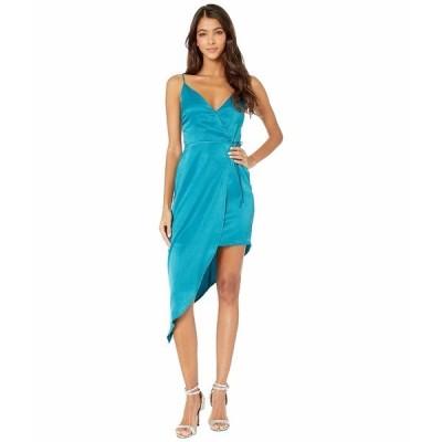 BCBジェネレーション ワンピース トップス レディース Asymmetrical Side Tie Dress TLC6245022 Marine Blue