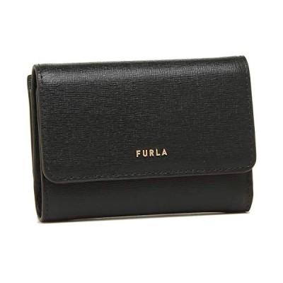 [フルラ]財布 FURLA 1056950 PCZ0 B30 BABYLON S TRI-FOLD バビロン レディース 三つ折り財布 (1)NERO(1056950 O60) [並行輸入品]