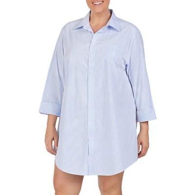 ラルフローレン レディース シャツ トップス Plus Size Classic His Shirt Sleepshirt