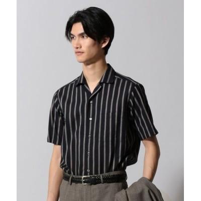 gotairiku/ゴタイリク ハードマンズコットンリネン シャツ ブラック系1 M