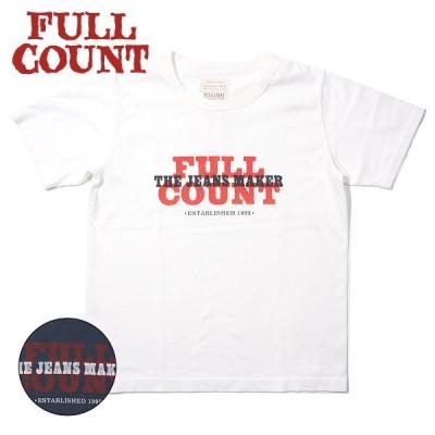 [ネコポス送料200円]フルカウント ロゴTシャツ LOGO TEE 5003 FULLCOUNT[2021年春夏新作]