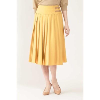 NATURAL BEAUTY / ◆アムンゼンミニベルト付プリーツスカート