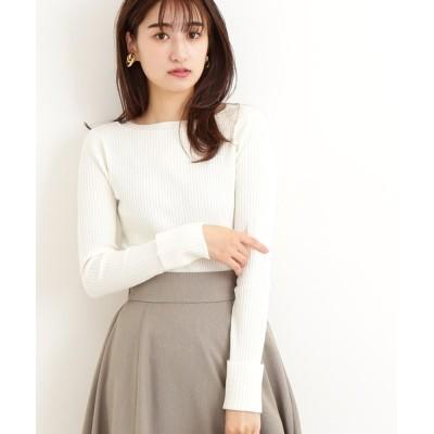 N.(N. Natural Beauty Basic) / ◆ウォームアップリブニット WOMEN トップス > ニット/セーター