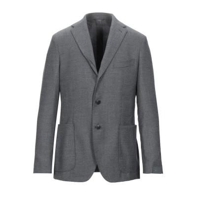 TORNABUONI テーラードジャケット グレー 48 ウール 100% テーラードジャケット
