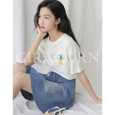 Tシャツレディースおしゃれファッションカットソーカジュアル女性トップス人気半袖Tシャツalt33