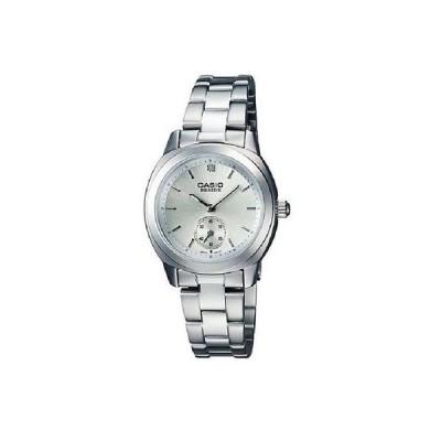 カシオ 腕時計  Casio Beside BEL114D-7A レディース シルバー ダイヤル ステンレス スチール ドレス 腕時計 50M