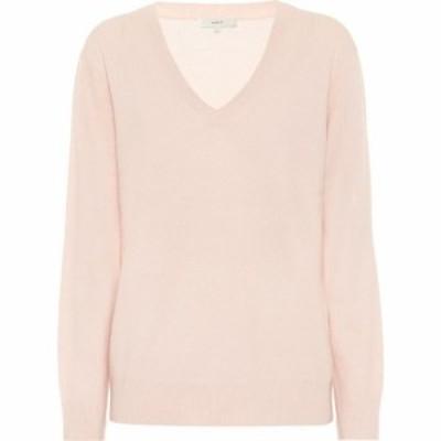 ヴィンス Vince レディース ニット・セーター Vネック トップス cashmere v-neck sweater Porcelain Pink