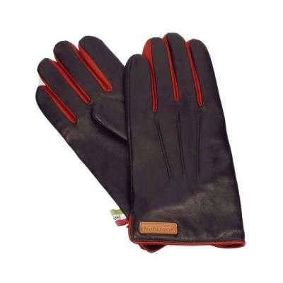 オロビアンコ 手袋 Orobianco ORM-1530 D.BROWN/RED 8.5サイズ