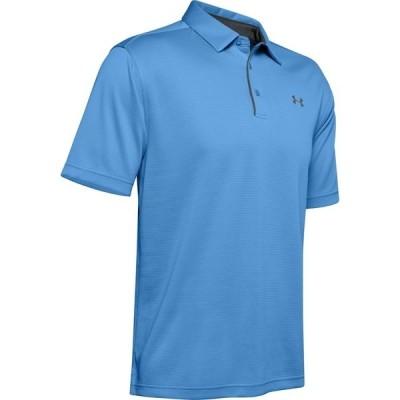 アンダーアーマー シャツ トップス メンズ Under Armour Men's New Tech Polo Shirt Blue Medium 05