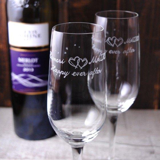 (一對價)185cc【MSA日本櫻花祭 】輕羽薄透香檳杯對組 結婚香檳酒杯 結婚送禮 心印結婚禮物 客製化