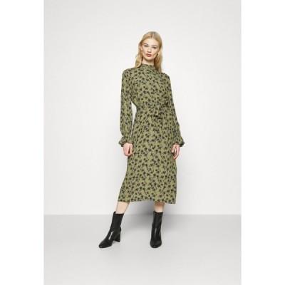ミニマム ワンピース レディース トップス CHALOTTHEA - Day dress - dark olive