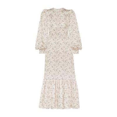 THE VAMPIRE'S WIFE ロングワンピース&ドレス アイボリー 8 シルク 100% ロングワンピース&ドレス