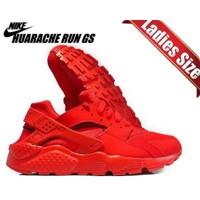 ナイキ エアハラチ レディース NIKE HUARACHE RUN(GS) university red/university red 654275-600 スニーカー ガールズ  レッド 赤
