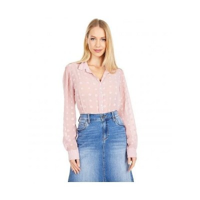 KUT from the Kloth カットフロムザクロス レディース 女性用 ファッション ブラウス Billa Button-Down Shirt with Long Sleeve - Rose