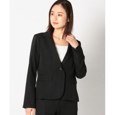 MEW'S REFINED CLOTHES / ウォッシャブルストレッチテーラードジャケット WOMEN ジャケット/アウター > テーラードジャケット
