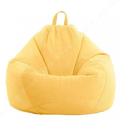 ビーズクッション 座布団 ソファー 取り外し可能 グレー ビーズクッション 豆袋 ミニ なまけ者ソファー 小型 軽量 腰痛 低反発 人をダメにするソファ