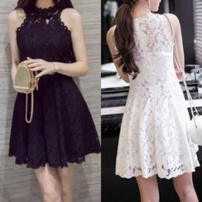 ワンピースドレス ワンピース ドレス 結婚式ドレス 清楚な印象を作る 総レースフレアワンピースドレス ワンピース ドレス a0054