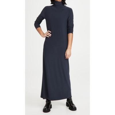 ノーマ カマリ Norma Kamali レディース パーティードレス タートルネック ワンピース・ドレス Long Sleeve Turtleneck Gown Pewter