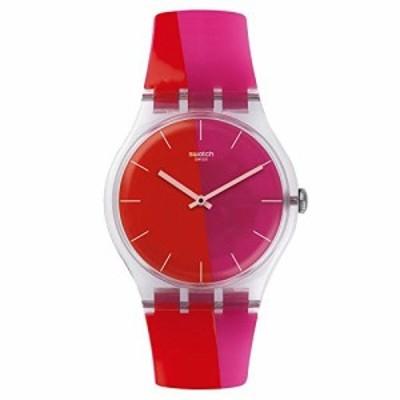 腕時計 スウォッチ メンズ Swatch Men's New Gent SUOK117 Multi Silicone Swiss Quartz Watch
