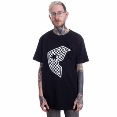 フェイマススターズandストラップス Famous Stars And Straps メンズ Tシャツ トップス - Checker Badge Black - T-Shirt black