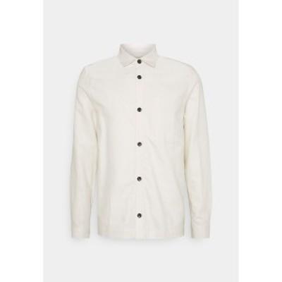マルティニーク メンズ シャツ トップス MATRITE - Shirt - off white off white