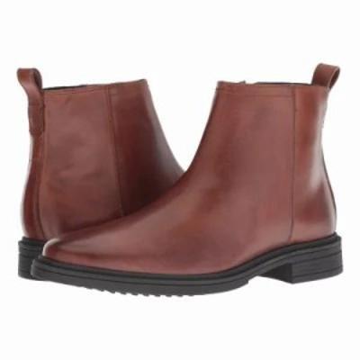 コールハーン ブーツ Bernard Zip Boot Woodbury/Black