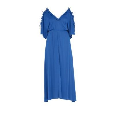 VERSACE COLLECTION ロングワンピース&ドレス ブライトブルー 40 レーヨン 100% ロングワンピース&ドレス
