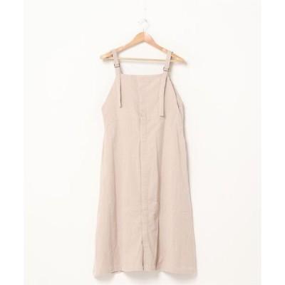 サロペット オーバーオール 【UAS8 original】16ウェルコーデュロイジャンパースカート womens