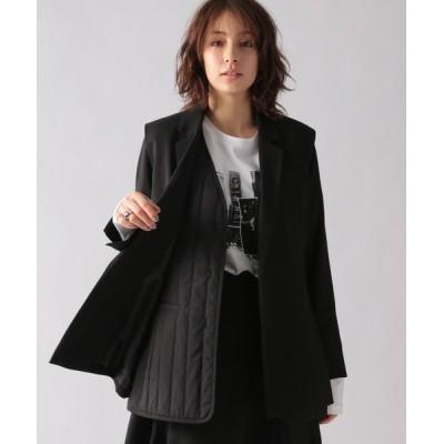 Ezick / ベスト付きジャケット WOMEN ジャケット/アウター > テーラードジャケット