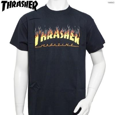 THRASHER Tシャツ スラッシャー NEW FLAME LOGO T-SHIRT