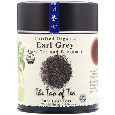 認証オーガニック紅茶 & ベルガモット, アールグレイ, 3.5 オンス (100 g)