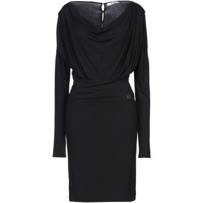 リュー ジョー LIU •JO ミニワンピース&ドレス ブラック M レーヨン 95% / ポリウレタン 5% ミニワンピース&ドレス