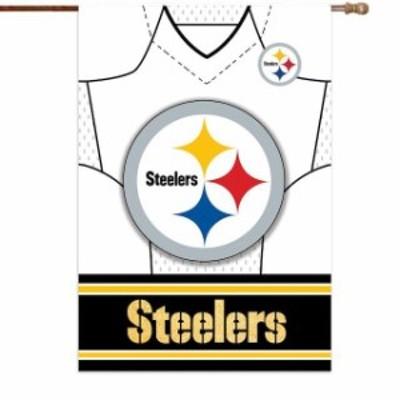 Evergreen Enterprises エバーグリーン エンタープライズ スポーツ用品  Pittsburgh Steelers 29 x 43 Double-Side