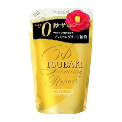 《資生堂》 TSUBAKI ツバキ プレミアムリペア ヘアコンディショナー (つめかえ用) 330mL