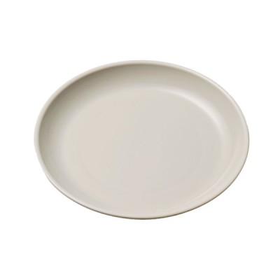 エンテック ポリプロ 給食皿 16cm グレー No.1712GR