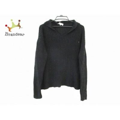 エンポリオアルマーニ EMPORIOARMANI 長袖セーター サイズ46 S メンズ - 訳あり 黒  スペシャル特価 20210108